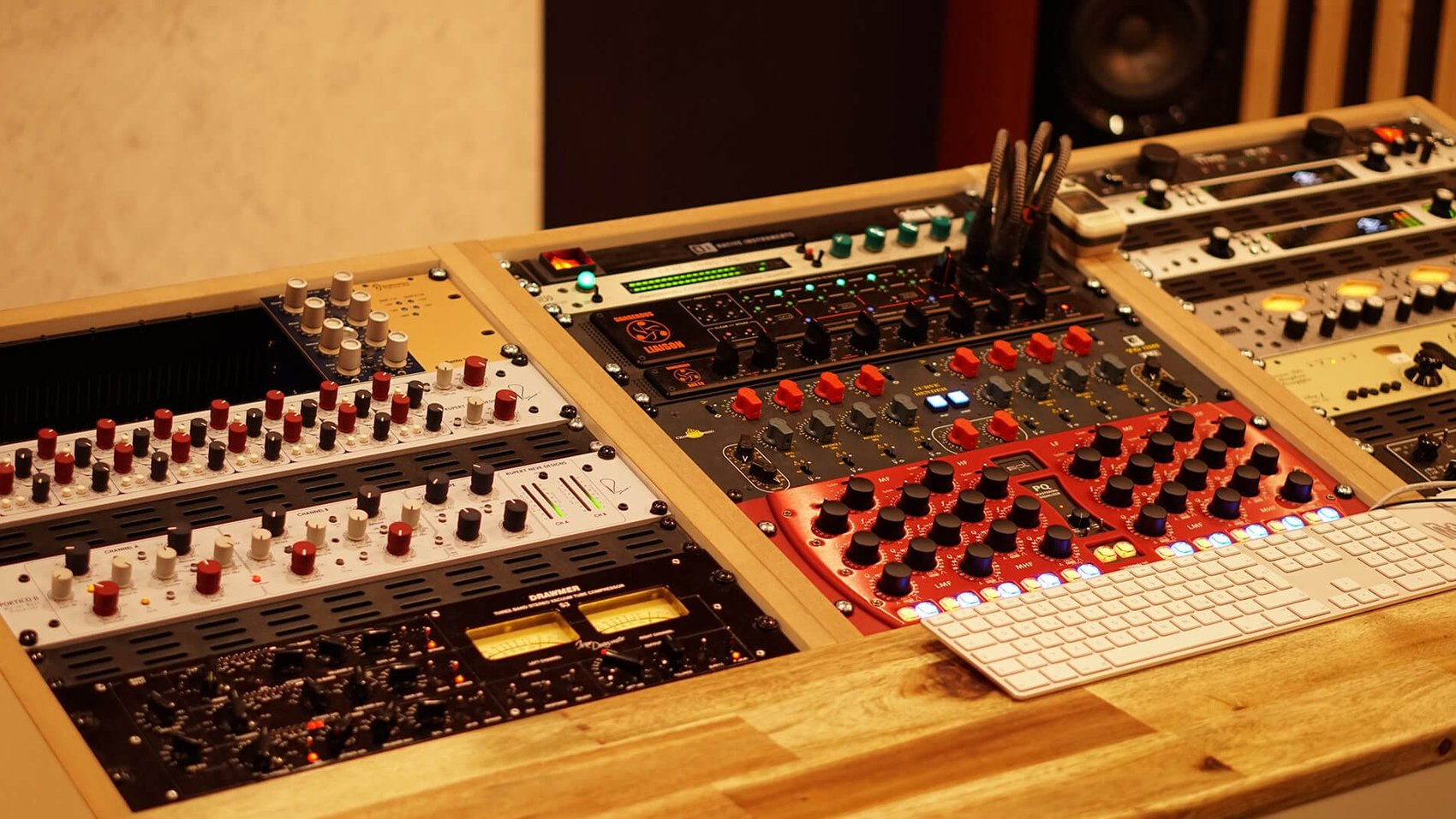 Flexible and constantly expanded: The mastering components in the Soundation Studio