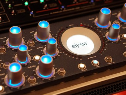 Soundation Studio Mastering Equipment Elysia Aplha Compressor