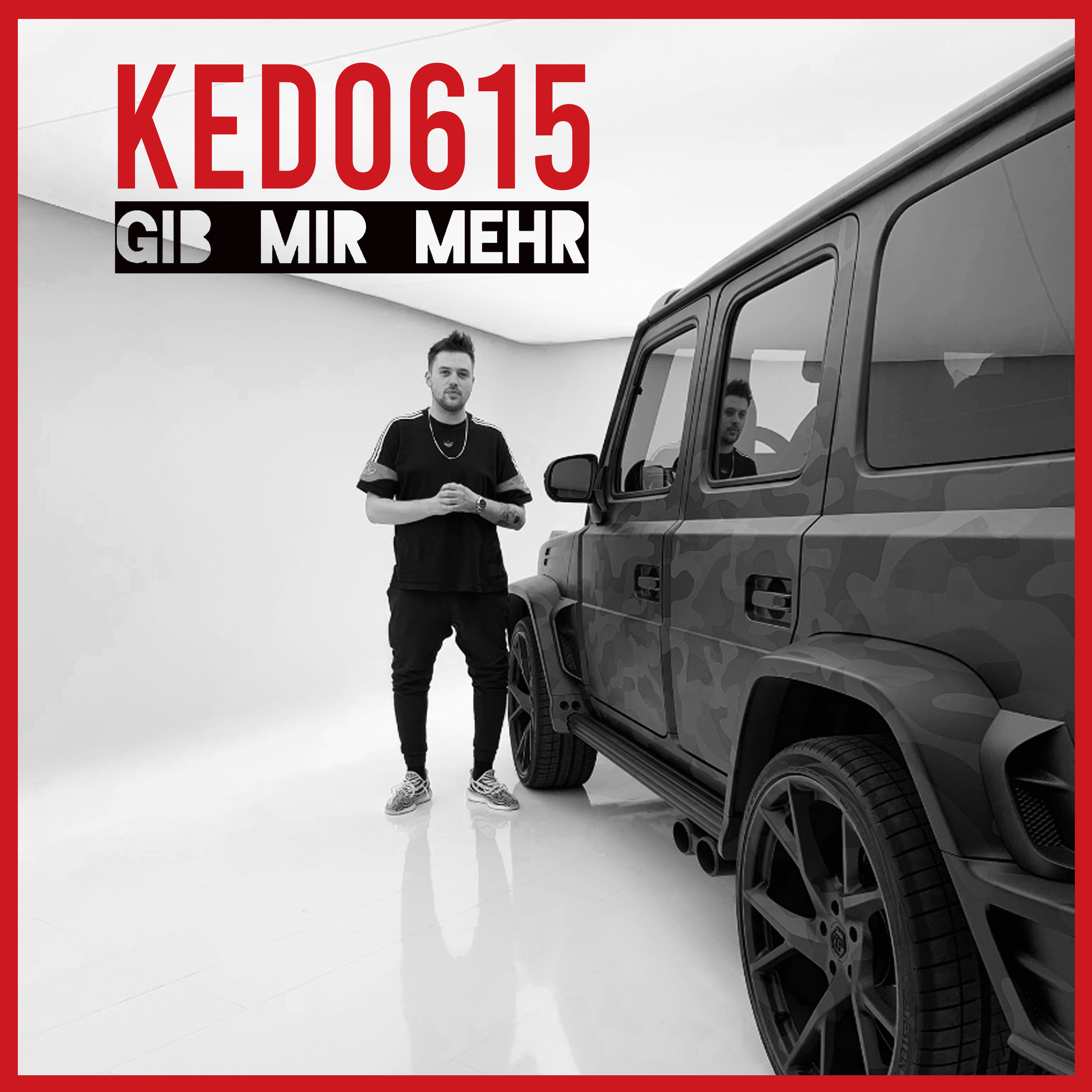 "Cover of KEDO615 - Gib mir mehr (""Give Me More"")"